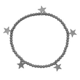 Armband ster zwart