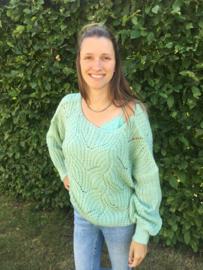 Sweater Muntgroen