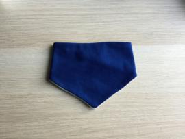 Zever sjaaltje effen blauw