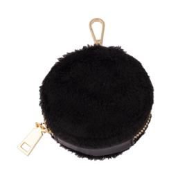 Portemonneetje zwart