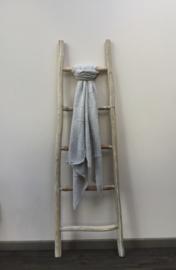 Sjaal effen lichtgrijs