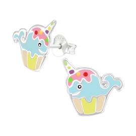 stekertje walvis - cupcake 1