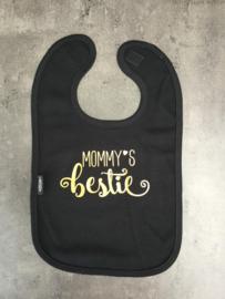 Slab mommy's bestie | zwart/goud