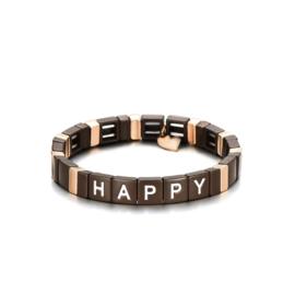 Armband happy bruin
