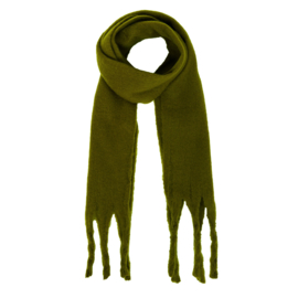Sjaal effen kaki