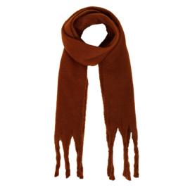 Sjaal effen camel