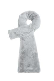 Sjaal Fluffy lichtgrijs