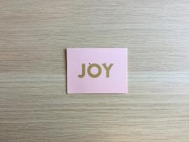 Wenskaartje Joy