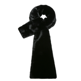 Sjaal Fluffy zwart
