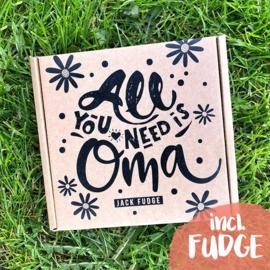 Oma Giftbox  + Fudge Surprise Pack