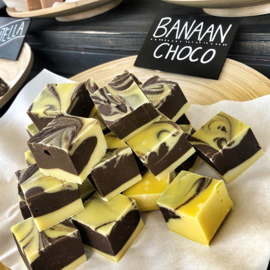 Banaan Choco fudge