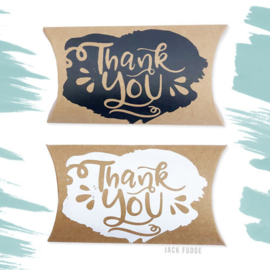 Thank You - bedankje - 10 stuks