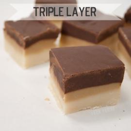 Triple Layer fudge