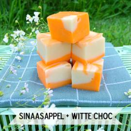 Sinaasappel Witte Choco fudge
