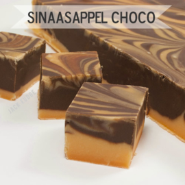 Sinaasappel + Chocolade fudge
