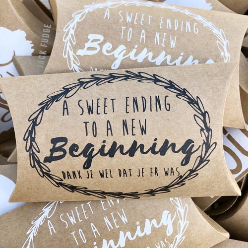 Sweet Ending - bedankje - 10 stuks