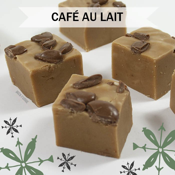 Café au lait fudge