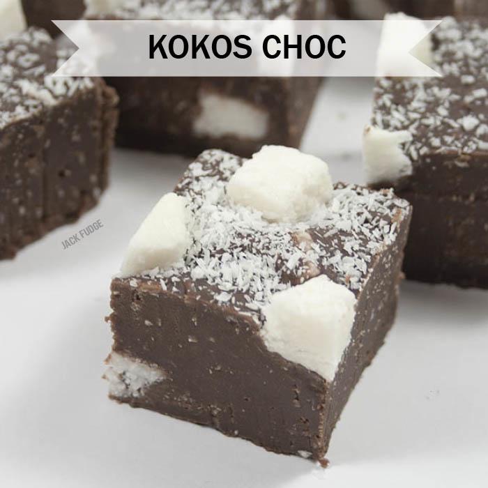 Kokos Choc fudge