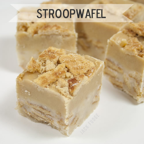 Stroopwafel fudge