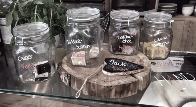 Jack Fudge groothandel verkooppunt