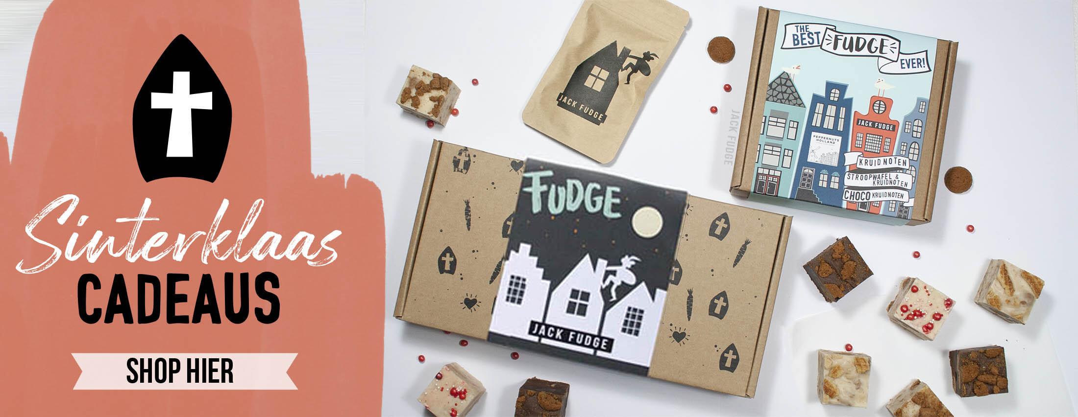 Sinterklaas fudge cadeaus