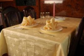 Tafellaken/Naperon Pastelgeel (meerdere maten)