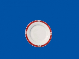 168-61 Round plate (16cm)