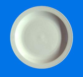 210-141 Plain white round plate (35.5cm)