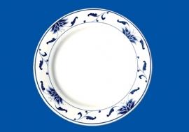 """255-111  10.25"""" Round plate 26cm"""
