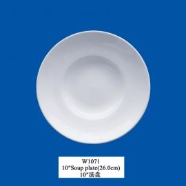 """W-1071  10""""Pasta/Salade borden (26cm)"""