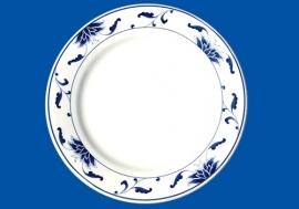 "255-111D  11"" Round plate 28cm"