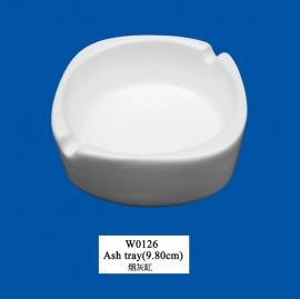 W-0126  Ash tray (9.8cm)