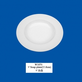 "Rambo 9"" (23cm) Soup plate"