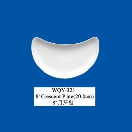 Crescent plate (20 cm)