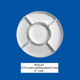 5 parts plates (31 cm)