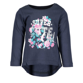 Blue Seven Shirt  Super Cute Girl