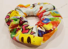 Nieuw Haarelastiek / Scrunchie Smiley