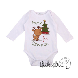Nieuw Kerstrompertje lange mouw  Its my 1st Christmas