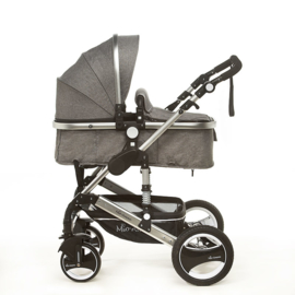 Nieuw Kinderwagen Palermo Linnen