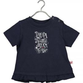 Blue Seven T-shirt Cute Butterfly (dark blue)