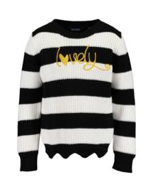 Blue Seven Girls knitted pullover Lovely Black