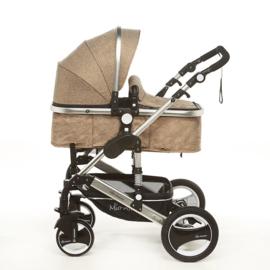 Nieuw Kinderwagen Capri Linnen
