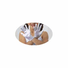 Nieuw Glans satijnen Bruids/Communie handschoentjes