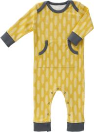 Nieuw Fresk Babysuit Havre Vintage Yellow