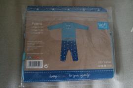 Nieuw Lief Pyjama Stoer  (86/92 )