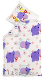 Wieg / Wagen Baby bed set  Nijlpaard