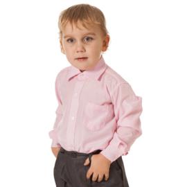 Overhemd Lange mouw Roze