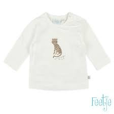 Feetje longsleeve offwhite - Panther Perfect