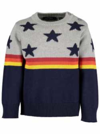 Blue Seven knitted pullover Let's  Play