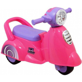 Eco Toys Retro Pink  Loopscooter